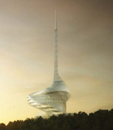 Canakkale Antenna Tower Competition Entry